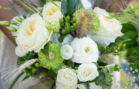 golf wedding bouquet