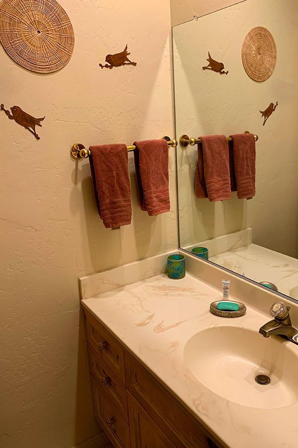 Hall Bathroom, Native Desert Sun Golf House, Rams Hill