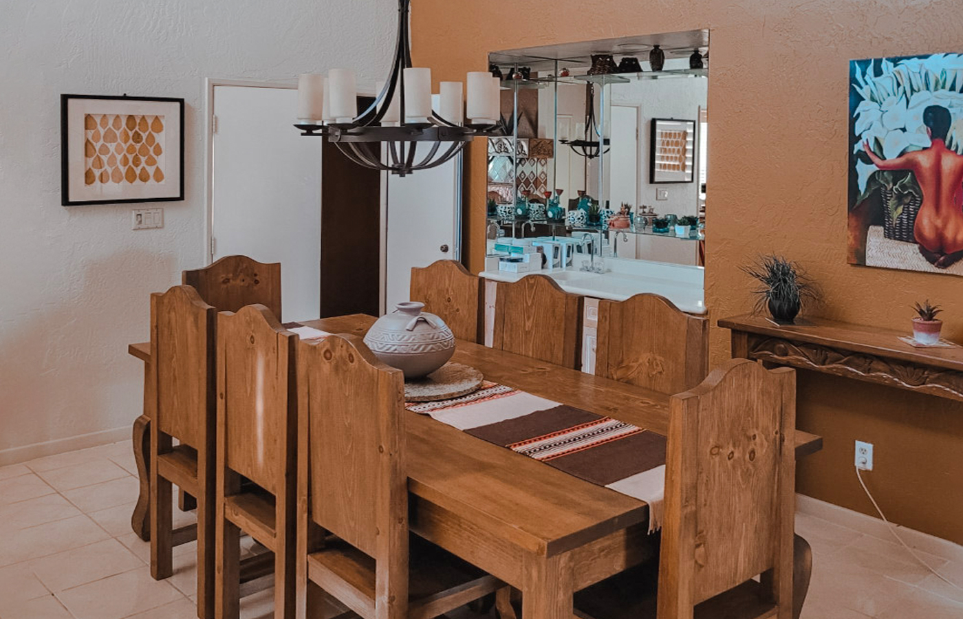 rams hill property the native desert sun dining room