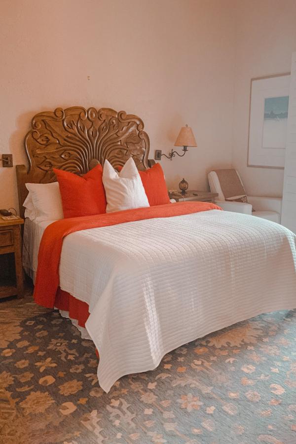 full Native Desert Sun master bedroom with printed carpet