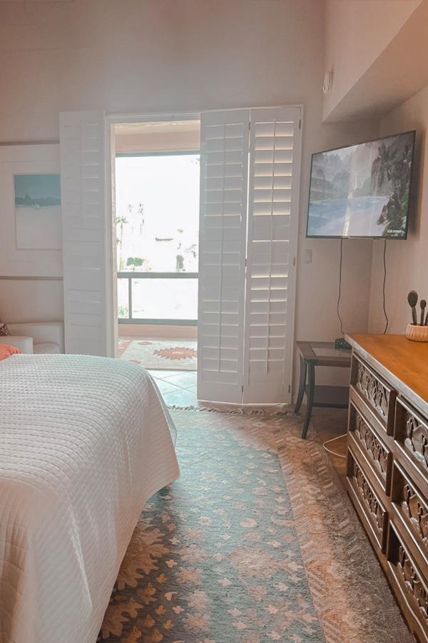 master bedroom to enclosed porch