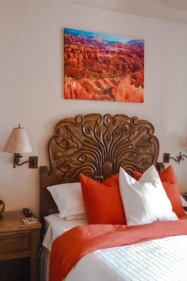 native desert sun bedroom painting
